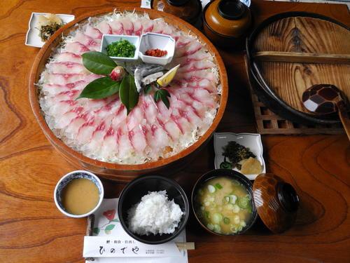おいしい鯉こくのランチセット☆酢みそはオリジナル!